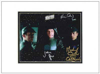 The Empire Strikes Back Autograph Signed Photo